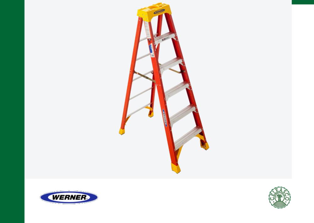 6Ft Type IA Fiberglass Step Ladder 6206