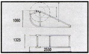 Reel Elevator Size